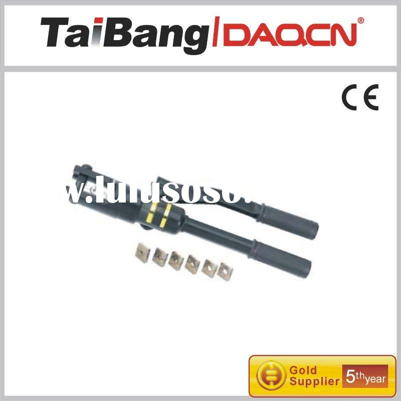 HYDRAULIC CRIMPING TOOLS for copper terminals and sleeve of underground cable