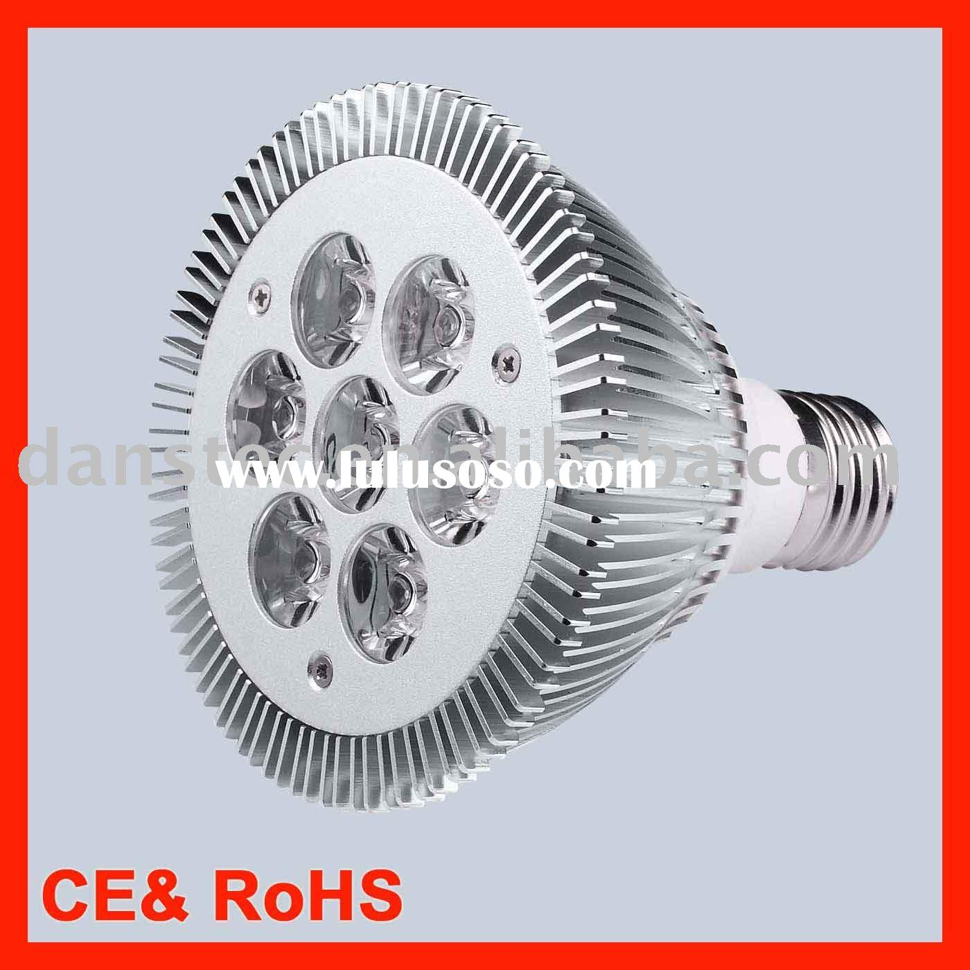 High power LED spot light 7x1W