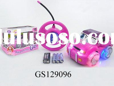 KSF Remote Control  Car Toy With Music And Light (Battery)