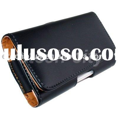 Leather Case Belt Pouch for Samsung i9000 Galaxy S / iPhone 4 / PDA Smartphones