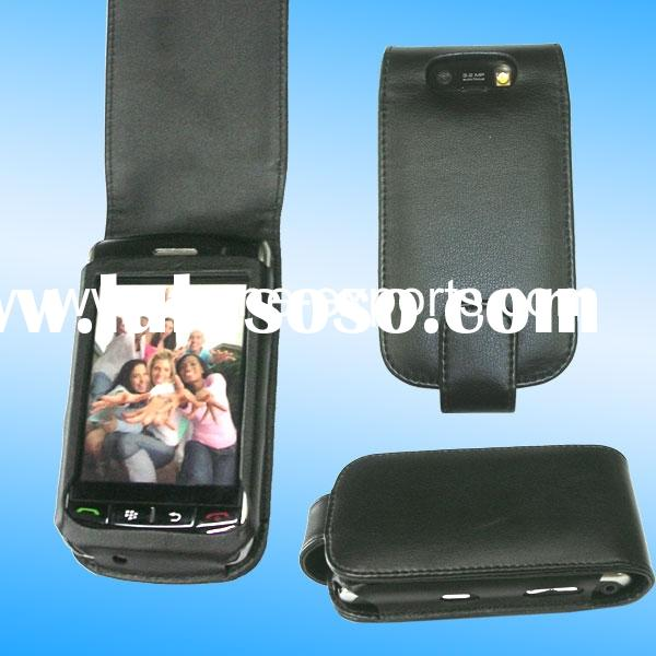 PDA leather case for blackberry 9500