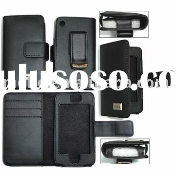PDA leather case, luxury pda leather case with card holder