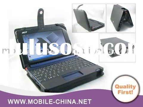 Portable notebook leather case for HP mini 1000 Laptop