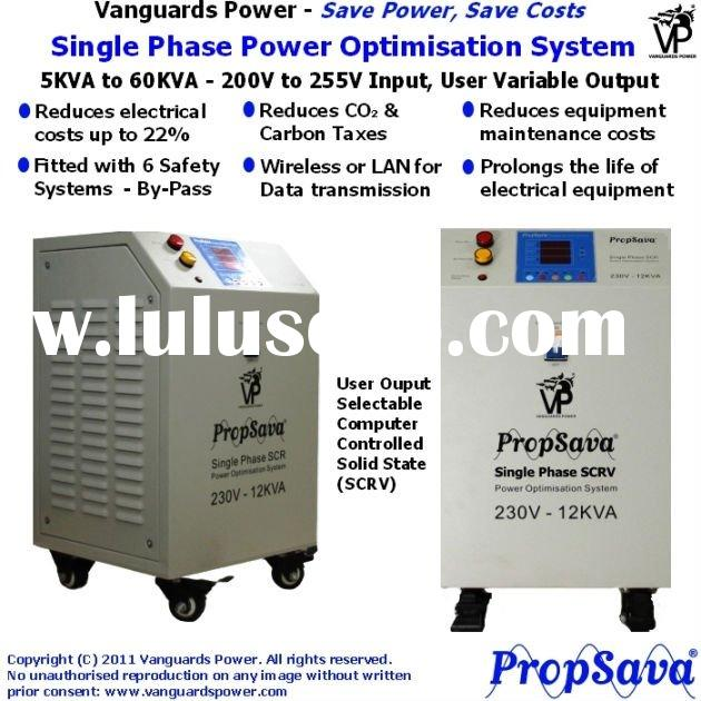 PropSava, Electric Power Saver for Single Phase