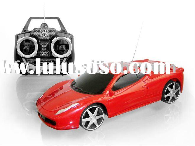 RC toy 4 Channel 1:28 radio control car childs remote control toy cars with Battery and Charger, Sui