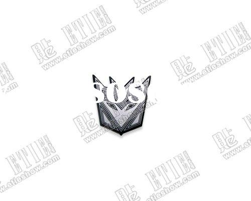 Transformers decepticons stainless steel thin car sticker