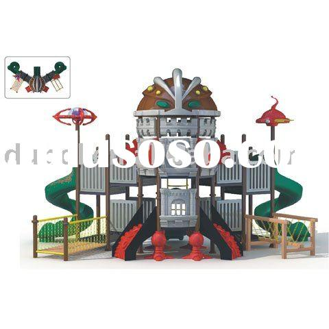 Transformers plastic stand/plastic playground equipment/park amusement