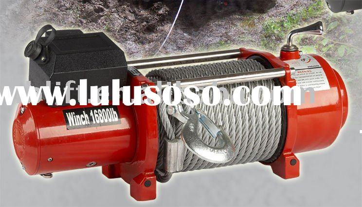 Truck Electric Winch SEC16800 with wireless remote control