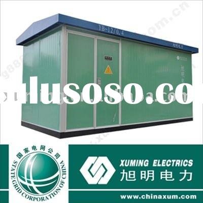 XuMing prefabricated mobile power transformer substation