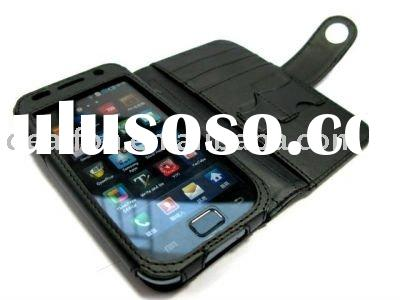 for Samsung Galaxy S i9000 Smartphone PDA Delux Horizontal Leather Case