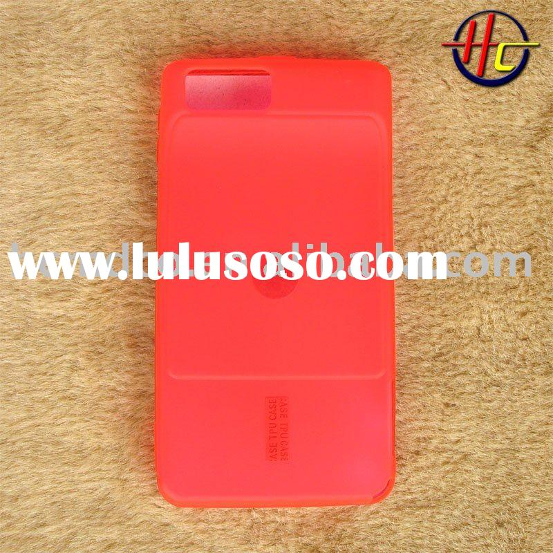 hot pink frosting mobile phone case for MOTO Droid X