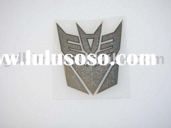 transformer- car metal sticker
