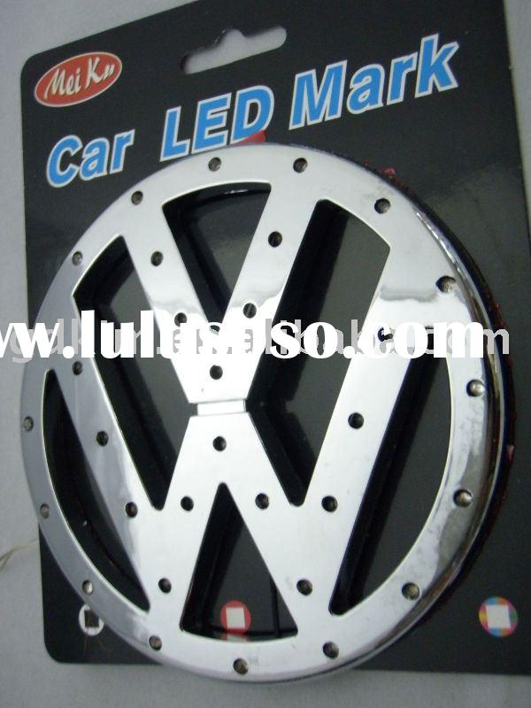 vw led car badges,emblems,logo for outo accessories