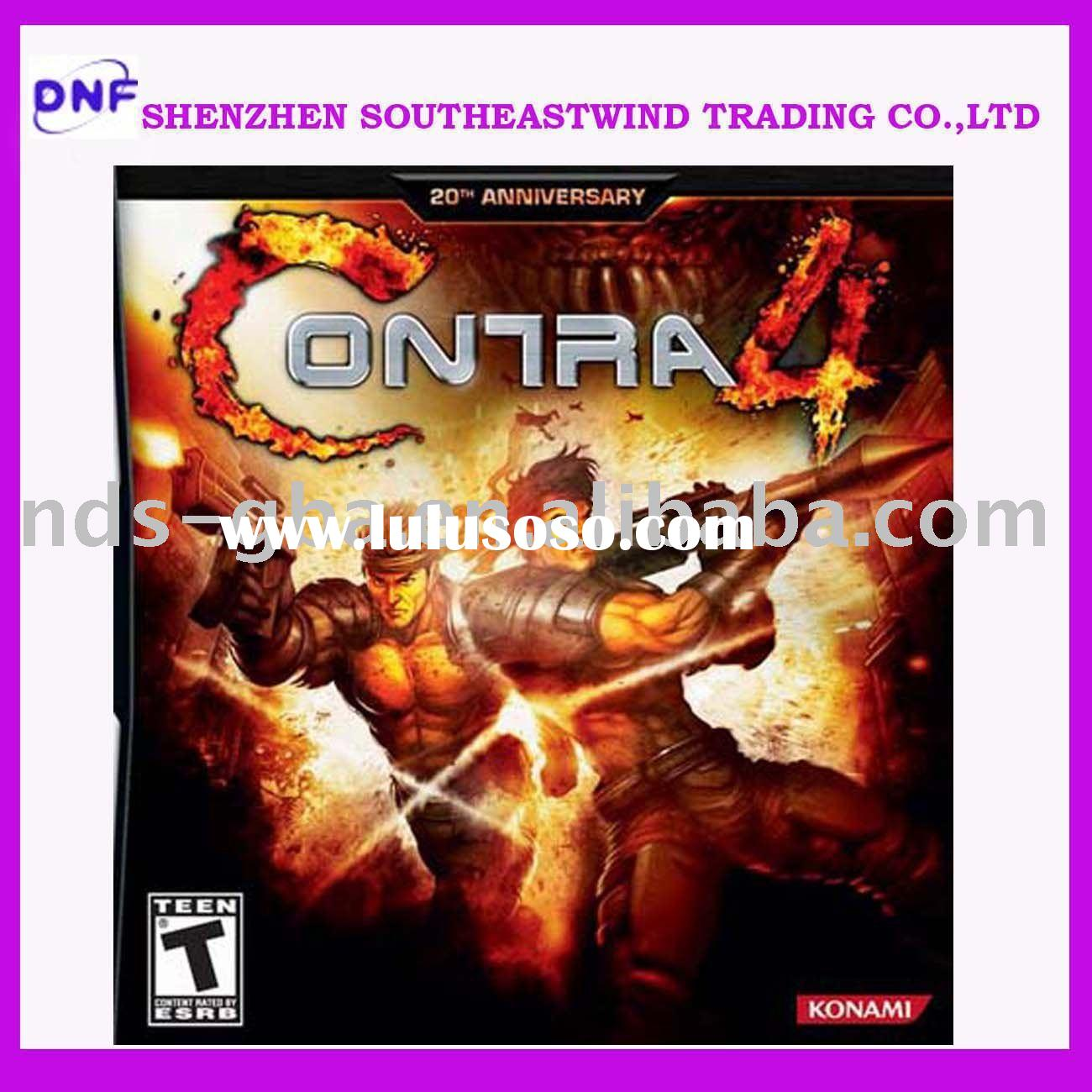 wholesale video games-game accessories for ds console-Contra4
