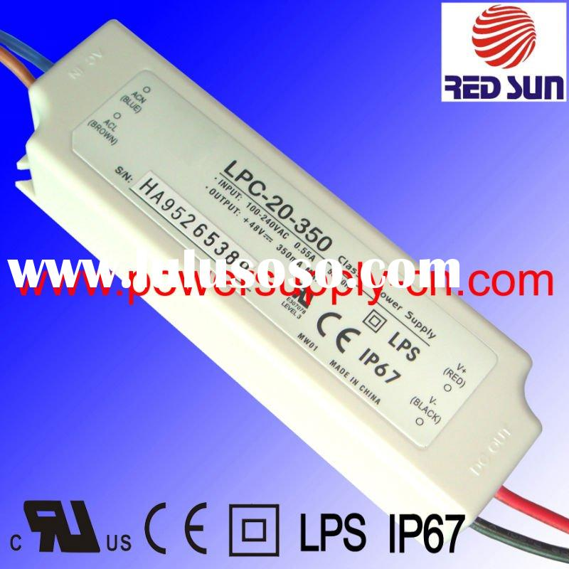 20W UL/CE Constant Current LED Transformer