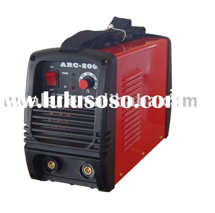 ARC-160 Inverter DC/MMA portable plastic welding equipment