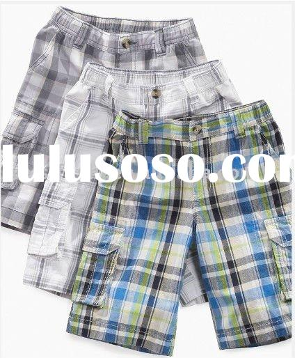 Child Cargo Check Shorts