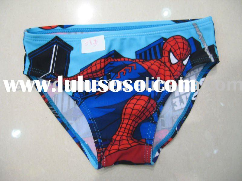Kid's swimwear in best quality, spider-man printed, top fashion, sells best