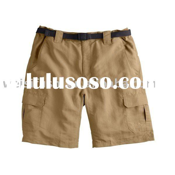 Men's Khaki Cargo Short