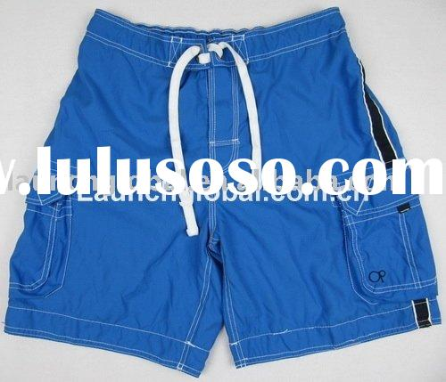 Stock Men Cargo Beach Shorts with Mesh Lining