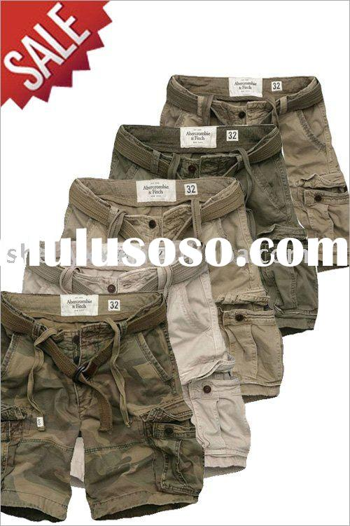 hot selling abercrombie board pants with many pocket