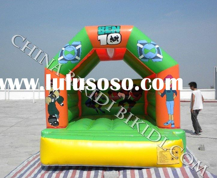 inflatable toy Ben 10 bouncer with rain/sun roof cover B2090