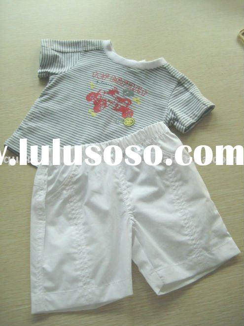 summer boy kids clothes, children apparel