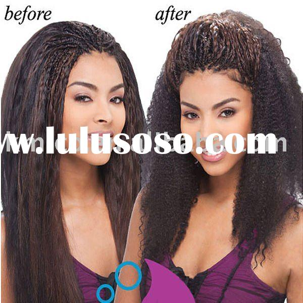 100% indian remy hair Lace front wig  jerry curly ,fashional color , full lace wigs for new look tre