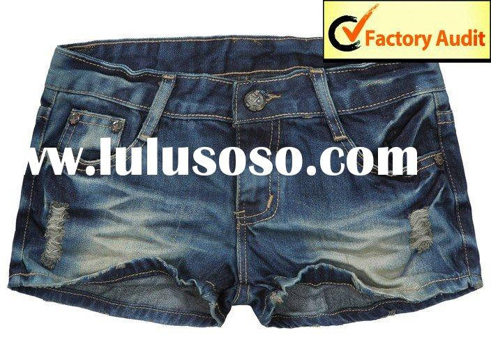 Hot Sale Short lady Jeans (BBL-S5) Japanese Style