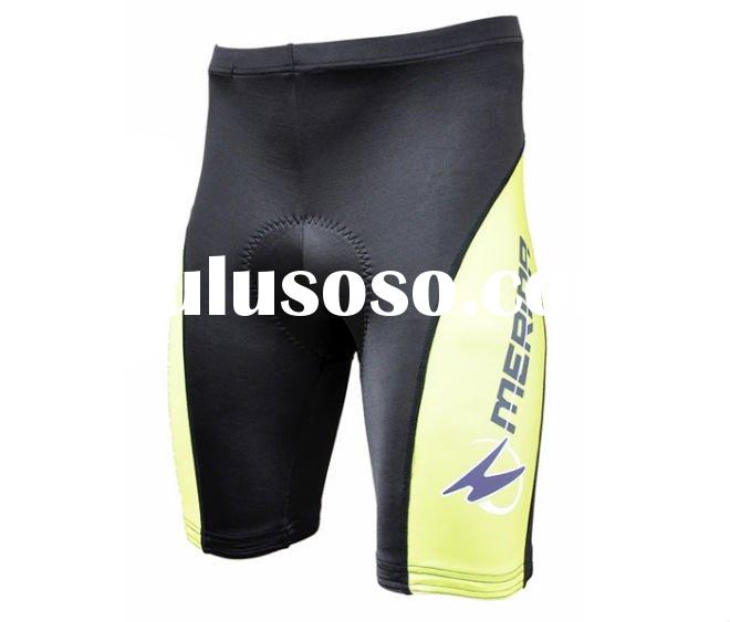 Polyester pro team cycling shorts