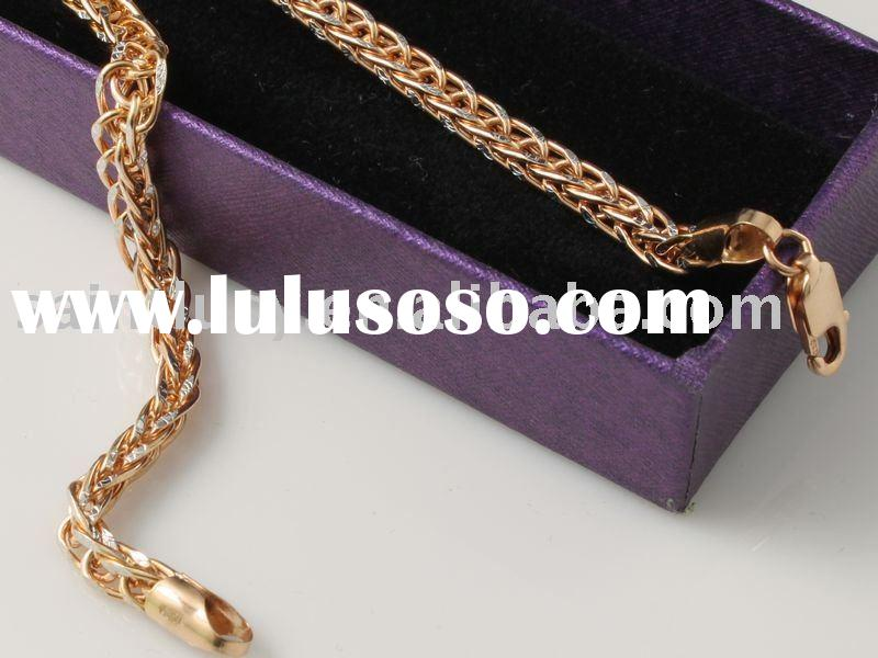 Rose gold Charm Chains Necklace