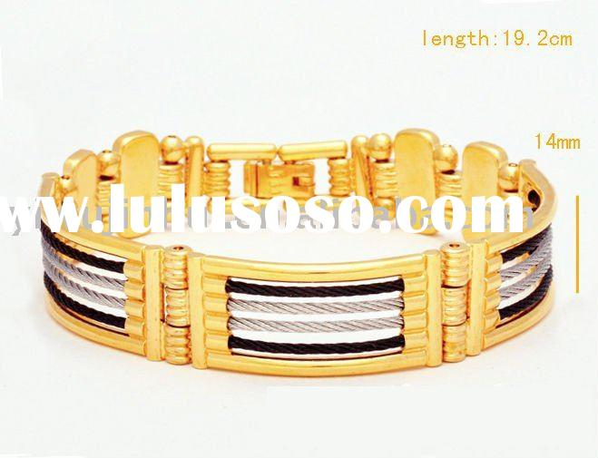 Wholesale JH 18K gold plated charm fashion bracelet jewelry