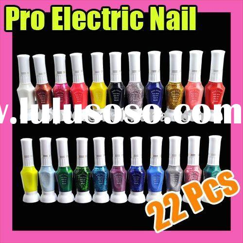 176 Hot Sale Nail Art 2-way Polish Brush Pen Tool Set 22 Colors