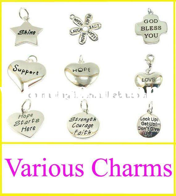2011 Fashion various metal alloy charm