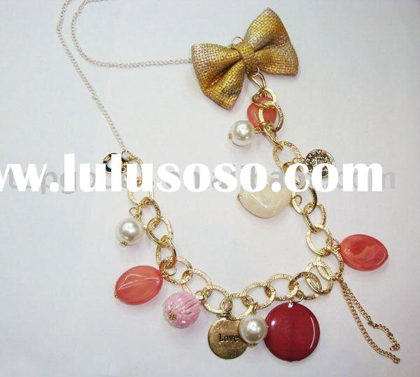 2011 vintage bead necklace with new design