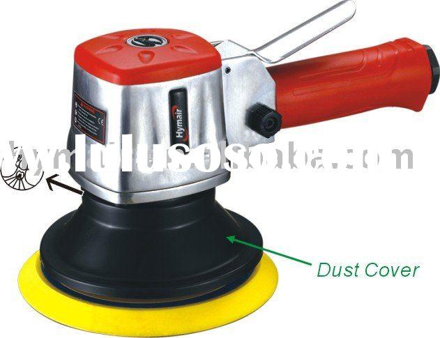 "6"" Professional Dual Action Air Sander (W/Dust Cover)"