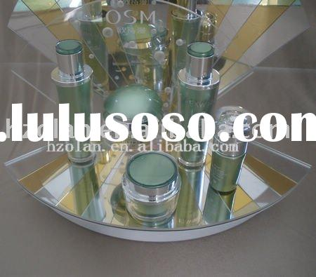 Acrylic/Perspex cosmetic display stand with LED Light