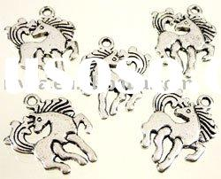 Best selling 2011 newest fashion horse alloy charms/pendants