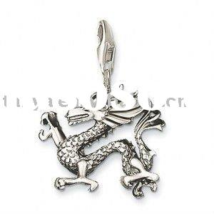 Dragon  charm braclet and kids jewelry and promotion gift