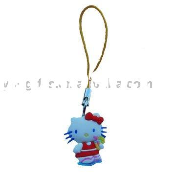 Hello kitty cute mobile phone charm