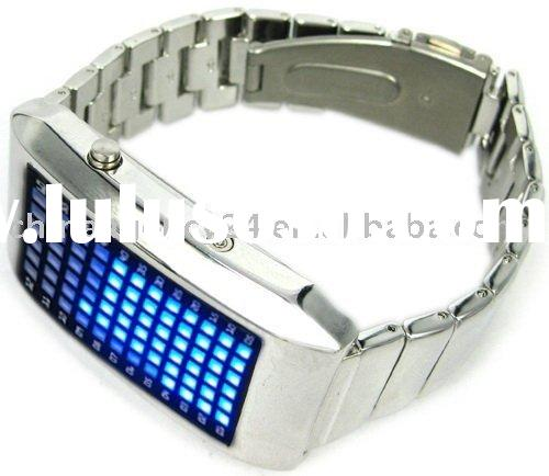 LED Watch support Displaying Month and Date with 72 Super Bright