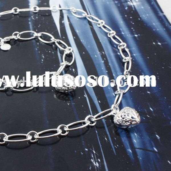 Mix & Match: 925 Sterling Sliver Charm Openwork Heart Jewelry Sets(2) GZ156