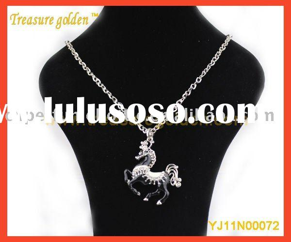 fashion HORSE pendant necklace Jewelry