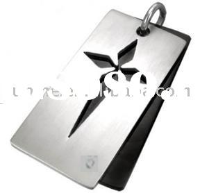 fashion stainless steel dog tags