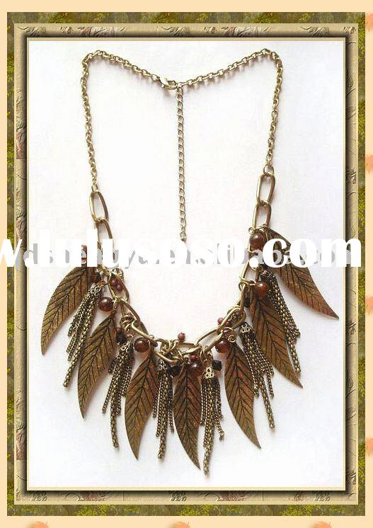 gold charms necklace