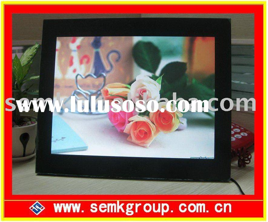 15inch digital foto frame with multi-function infrared ray sensor function optional