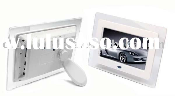 "7"" TFT screen digital picture frame"