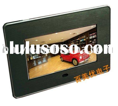 7 inch digital photo frame + electronic photo album+AD player