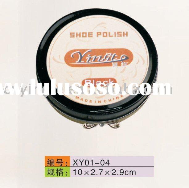 80g tin wax solid white/black/brown/neutral shoe polish