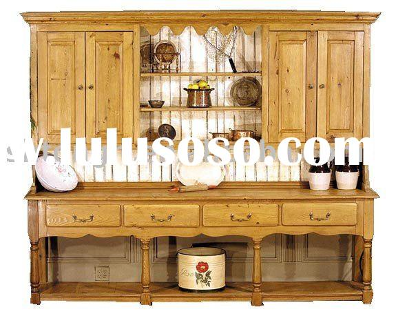 Antique Kitchen Furniture Wooden Cupboard